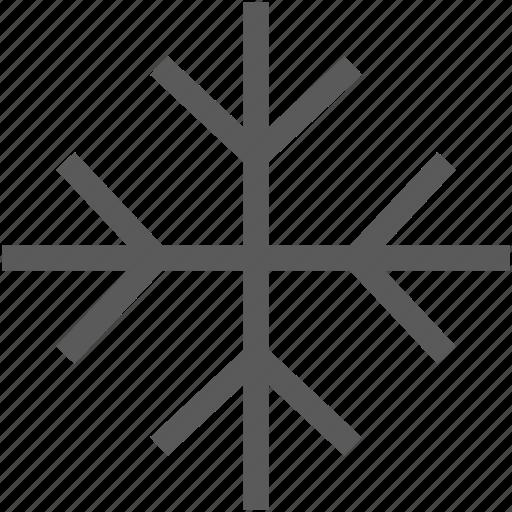 snow, snowflake, weather, winter icon