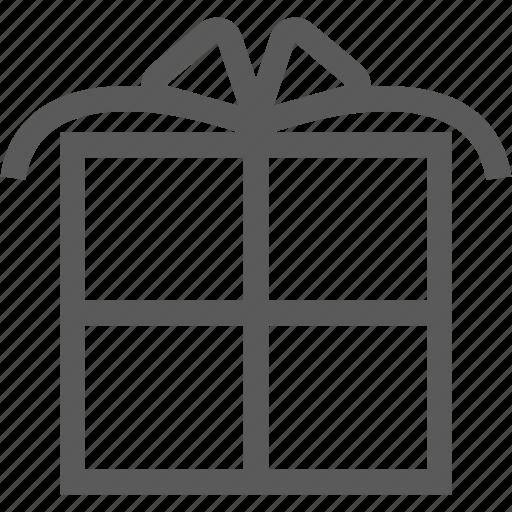 birthday, box, gift, shopping icon