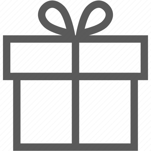birthday, box, gift, shopping icon
