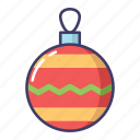 accessories, christmas, decoration icon