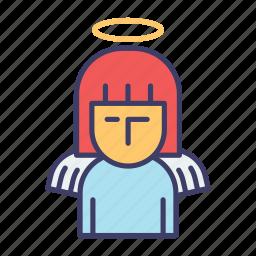 angel, christmas icon