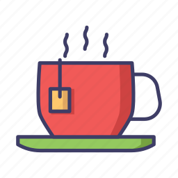 christmas, cup, hot drink icon