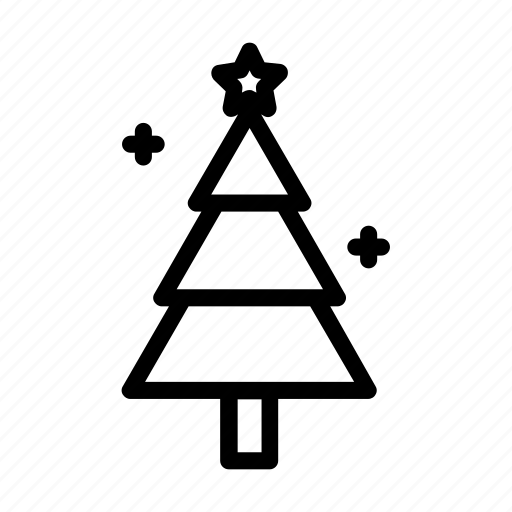 christmas, pine, spruce, tree icon