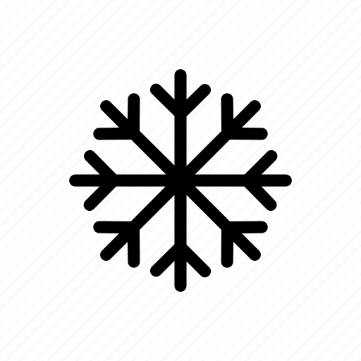 flake, frozen, snow, water, winter icon