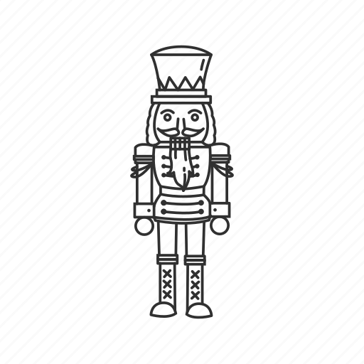 Christmas, holiday, nutcracker, soldier, toy, toy soldier, nut cracker icon - Download on Iconfinder