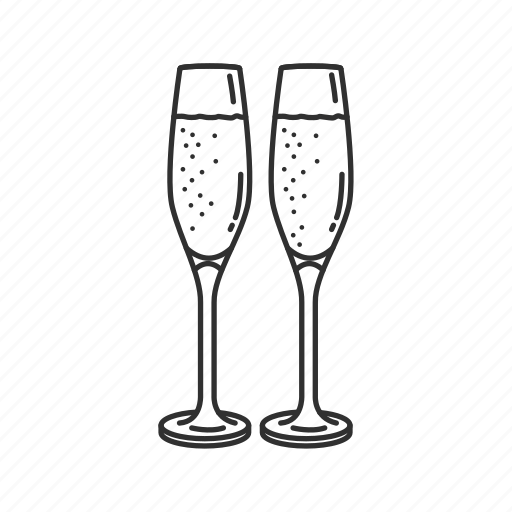 bubbles, bubbly, celebrate, champaigne, cheers, christmas, holiday icon