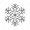 christmas, christmas snowflake, cold, snow, snow flake, snowflake, winter icon