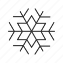 christmas, christmas snowflake, cold, holiday, snow, snowflake, winter icon
