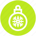 ball, christmas, decoration, easter, holiday, ornaments, snow icon