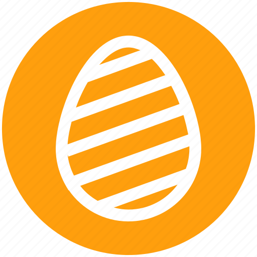 christmas, decoration, easter, egg, holiday icon