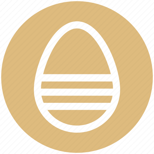 christmas, decoration, easter, egg, holiday icon