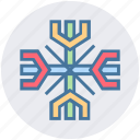 christmas, decoration, easter, party and celebration, snow, winter icon