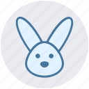 animal, bunny, bunny face, christmas, hare, rabbit face