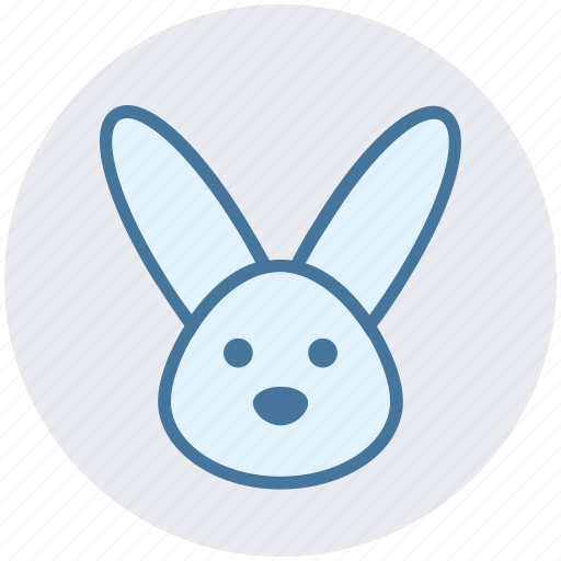 Animal, bunny, bunny face, christmas, hare, rabbit face icon - Download on Iconfinder