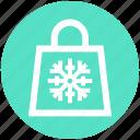 bag, christmas, christmas bag, claus, decoration, gift, santa icon