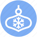 celebration, christmas, decoration, easter, snow, xmas icon