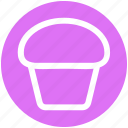 bake, cake, christmas, cup, dessert, scone, sweet icon