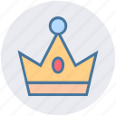 celebration, christmas, crown, easter, king, prince, queen icon