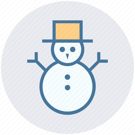 Christmas, decoration, easter, hat, snow, snowman, winter icon - Download on Iconfinder