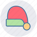 christmas, christmas hat, claus, hat, holiday, santa, winter icon
