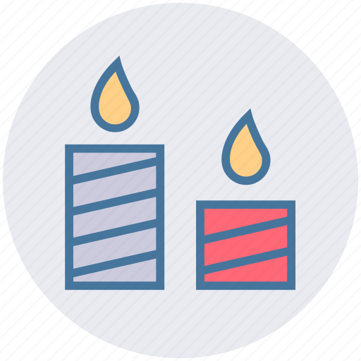 Candles, christmas, easter, light, xmas icon - Download on Iconfinder