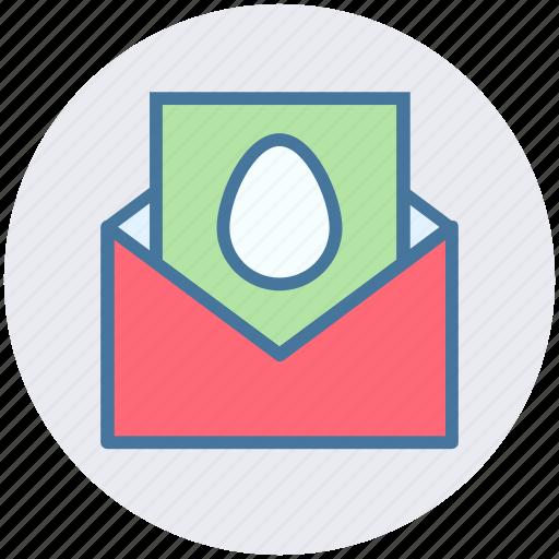 card, christmas, egg, egg card, envelope, letter icon