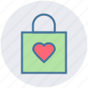 bag, christmas, christmas bag, decoration, gift, heart, love icon