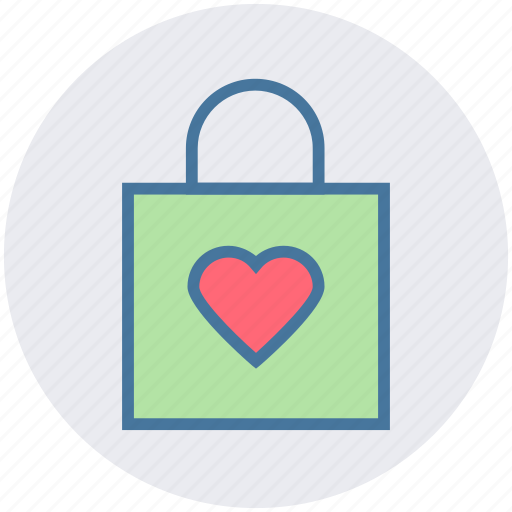 Bag, christmas, christmas bag, decoration, gift, heart, love icon - Download on Iconfinder