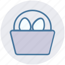 bucket, christmas, easter, egg, holiday icon