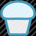 bake, cake, christmas, cup, dessert, scone, sweet icon