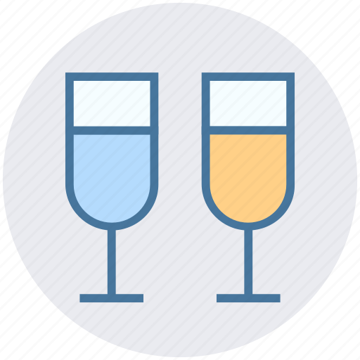 Beverage, calabration, christmas, drink, glass, wine icon - Download on Iconfinder