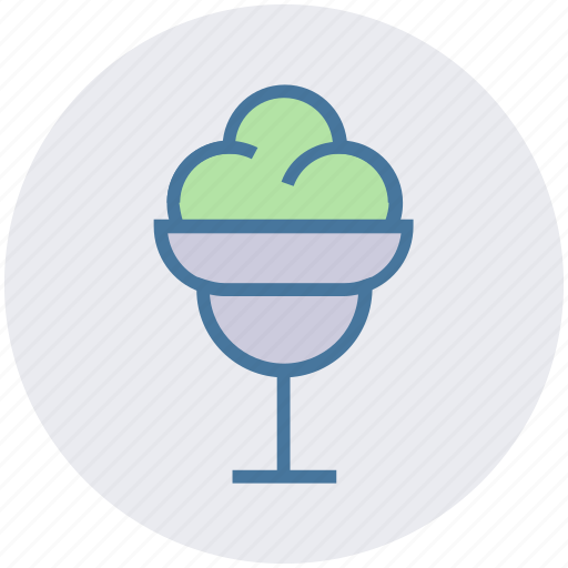 Chocolate, christmas, cream, cup, dessert, ice cream, sweet icon - Download on Iconfinder