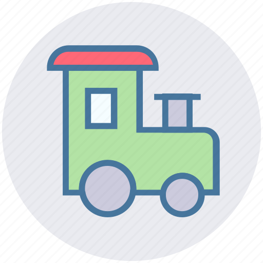 Christmas, party, toy, train, transportation, vacation, winter icon - Download on Iconfinder