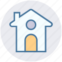 apartment, building, christmas, easter, home, house icon
