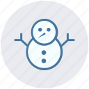 christmas, decoration, easter, snow, snowman, winter