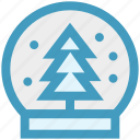 christmas, easter, globe, snow, snowflake, tree, winter icon