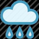 christmas, cloud, forecast, rain, rainy day, spring, weather icon
