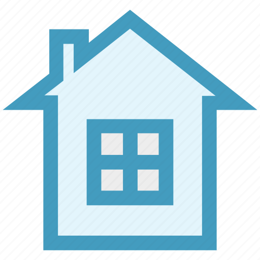 apartment, building, christmas, easter, home, house, window icon
