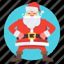 cartoon character, character, christmas, claus, santa, santa claus