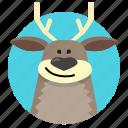 animal, cartoon character, character, deer, reindeer