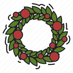 christmas, decoration, xmas icon