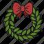 bow, christmas, decoration, xmas icon
