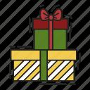 bow, christmas, gift, present, xmas