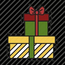 bow, christmas, gift, present, xmas icon