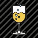 celebration, champagne, christmas, xmas icon