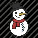 christmas, decoration, snowman, xmas