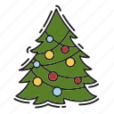 celebration, christmas, christmas tree, decoration, xmas icon