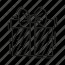 bow, christmas, gift, present, xmas, box