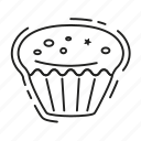 cake, christmas, cupcake, sweet, xmas icon