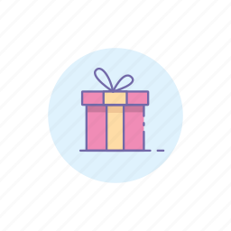 birthday, box, christmas, gift, present, vacation icon